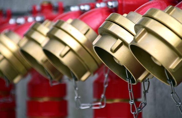 В Кронштадте провели конкурс семейных команд по пожарной безопасности «01»